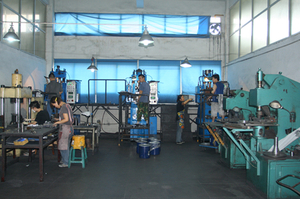 Carbide Pressing Workshop