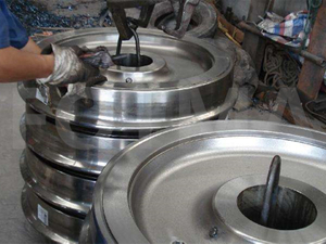 Forging Railway Train Wheels