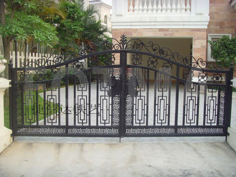 Wrought Iron Fence & Gate
