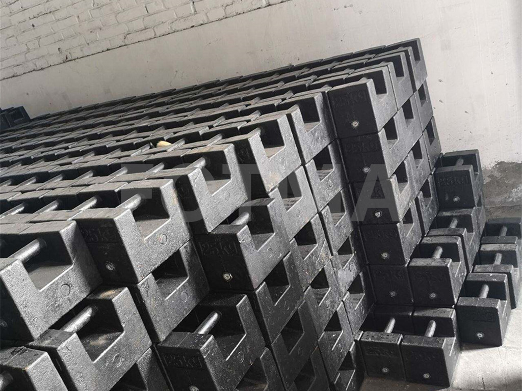Casting Elevator Parts Elevator Couterweight